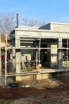 תכנון אדריכלי בית בשדה ורבורג - שלב הטייח