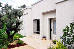 אדריכלות ועיצוב פנים בית בהרחבה ביד חנה