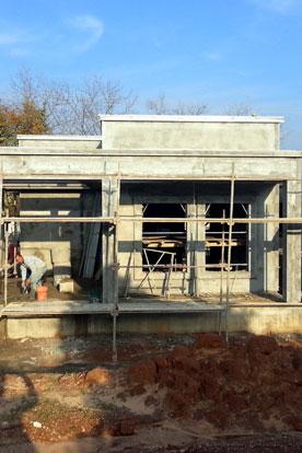 שלב טיח - תכנון בית בנחלה