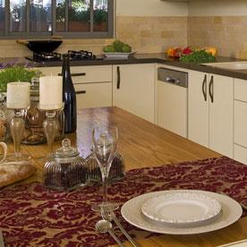 סטיילינג לבית - עיצוב מטבח כפרי קלסי