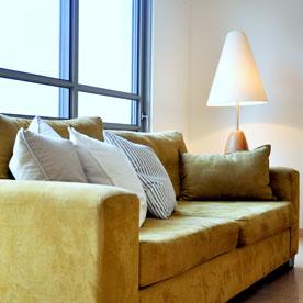 אווירה בסלון - עיצוב בתאורה
