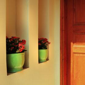 תכנון נישות בכניסה לבית